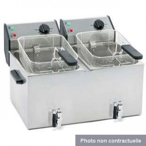 Location Friteuse 7200 w - 2x8 litres