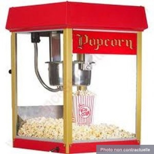 Location Appareil à Pop-corn
