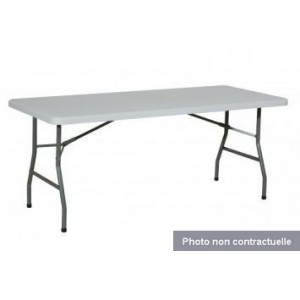 Location Table pliante 0,75 x 1,83 m - 8 places
