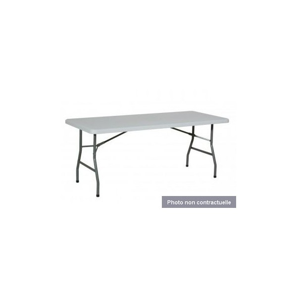 Dauphin R Ception Location Mobilier Tables Et Chaises Location Table Pliante 0 75 X 1 83 M