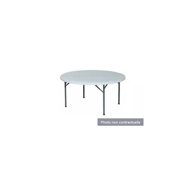 Dauphin r ception location mobilier tables et chaises location table ronde 1 50 m 8 10 - Location table et chaises ...