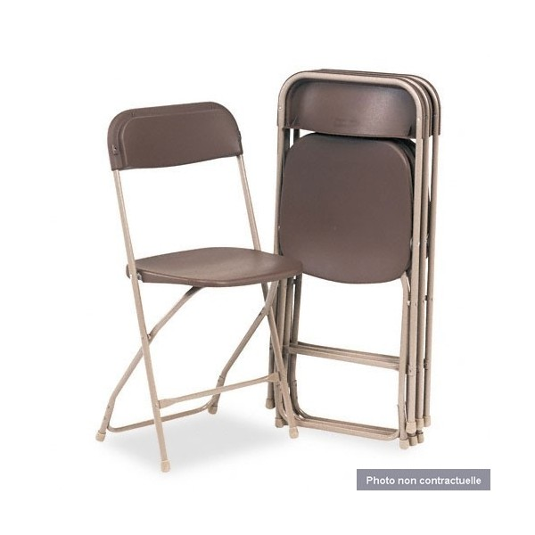 Table pliante avec chaises integrees nimes 2139 - Table pliante 4 chaises integrees ...