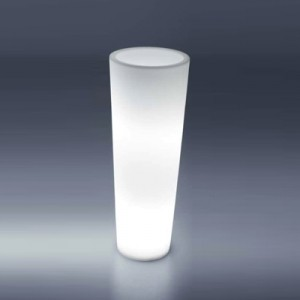 Location pot lumineux rond Ø 40cm h 50 cm